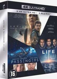 [Bol.com Select] Box met Arrival, Life en Passengers op 4K Blu-ray