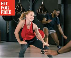 FitForFree: 12 weken Fitness & Groepslessen