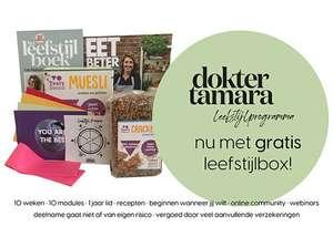 Leefstijlprogramma huisarts Tamara de Weijer incl leefstijlbox - vaak gratis bij aanvullende zorgverzekering