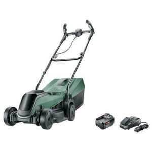 Bosch Citymower 18-300 inclusief 18V 4.0Ah batterij en lader. (+ Bosch actie tot 31/08: Extra 4.0Ah batterij en lader)