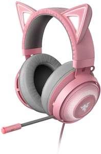 [laagste prijs ooit] Razer Kraken Kitty edition Gaming Headset (bedraad, RGB Chroma, ANC microfoon) @Amazon