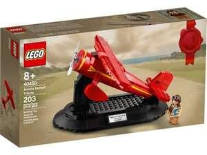 LEGO 40450 - Eerbetoon aan Amelia Earhart voor 1500 punten (Lego VIP only)