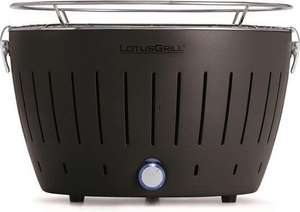 Houtskoolbarbecues LotusGrill Classic Hybrid Tafelbarbecue - Ø350mm - Antraciet