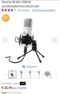 Usb microfoon