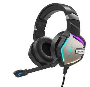 BlitzWolf® BW-GH1 Pro Gaming Headset 7.1/5.1 Virtual Surround Sound 50 mm Dynamic Driver RGB LED Light 3,5 mm of 7.1 channel+usb