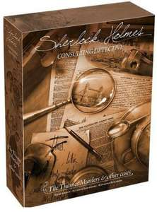 Sherlock Holmes Consulting Detective - The Thames Murders Game
