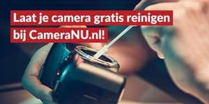 Gratis sensorreiniging (Camera) - CameraNU