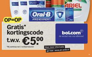Gratis Bol cadeaukaart bij geselecteerde producten! @ Albert Heijn