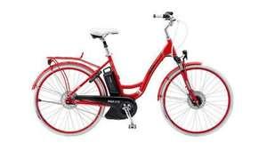 YamahaAX-ION 4.4 Urban electrische fiets (middenmotor, 374wh accu, 7 Nexus versnellingen, voorvering, zadelpenvering, framemaat 48cm-53cm)
