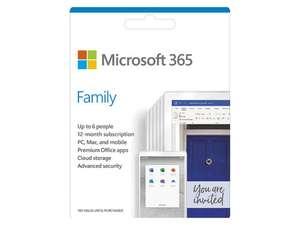 Microsoft 365 Family (1 jaar)