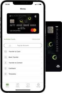 Gratis 13 euro en een Blackcatcard Mastercard+ Iban