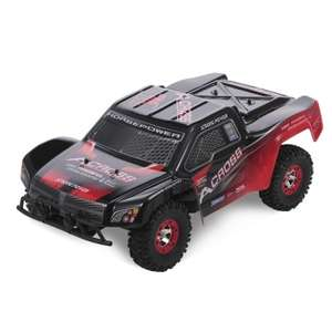 Wltoys 12423 1/12 2.4G 4WD RTR 50km/h RC auto voor €67,14 @ Tomtop