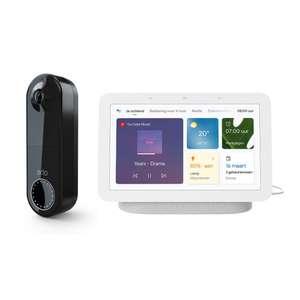 Arlo Wire Free Video Doorbell + Google Nest Hub gen. 2 voor €194 met nieuwsbriefkorting @ tink