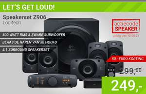 Logitech Z906 Surround Sound Speaker System @ Megekko