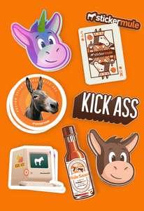 Gratis stickers - Stickermule