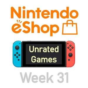 Nintendo Switch eShop aanbiedingen 2021 week 31 (deel 2/2) games zonder Metacritic score