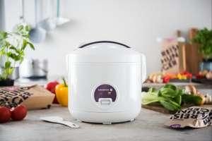 Rijstkoker met keramische coating + 2x 600g bio rijst voor €29,99 (500W, 1.2l voor ~360g rijst, uitneembare binnenpan, stoominzet)