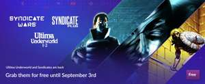 Syndicate Plus, Syndicate Wars & Ultima Underworld 1+2 Gratis @ GOG.com en Origin