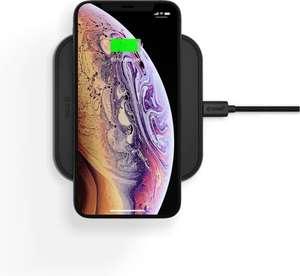 ZENS aluminium single snelle draadloze oplader incl. 18W USB PD - Zwart