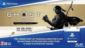 [Nedgame/Bol.com/GM] Gratis PSN Voucher 10 Euro bij pre-order Ghost of Tsushima Director's Cut