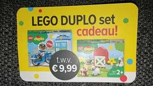 Gratis Duplo set bij aankoop van €35 aan Duplo @ Intertoys winkels