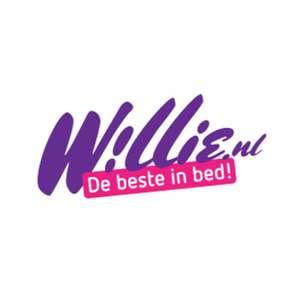 Alleen vandaag 20% korting op alle dildo's bij willie.nl