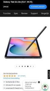 Samsung tablet Lite S6 met gratis keyboard cover