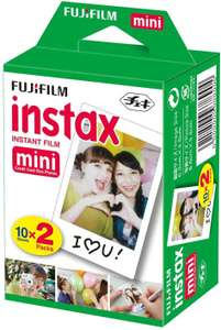 Fujifilm Instax Mini 40 foto's (2x20) met 50% korting @ Amazon.nl