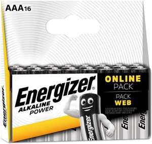 Energizer Batterijen AAA, Alkaline Power, 16 Stuks [Amazon Warehouse NL - Als nieuw]