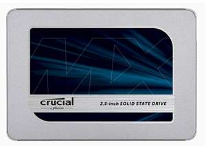 "Crucial MX500 2,5"" 500GB SSD"