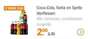 Coca-Cola, Sprite & Fanta 1L