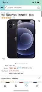 iPhone 12 128 GB Amazon.nl