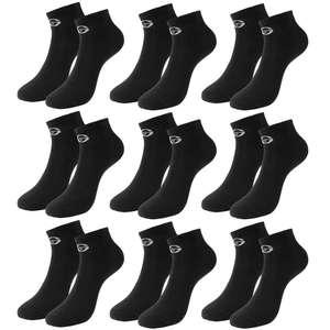 9 paar Sergio Tacchini sneaker sokken voor €9,99 @ Sport-Korting