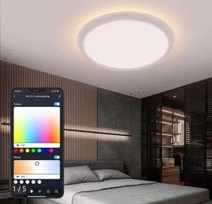BlitzWolf® BW-CLT1 LED Smart Ceiling Light App RGB Alexa/Google Home 7 daagse levering