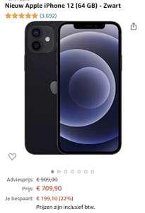 iPhone 12 64GB €709