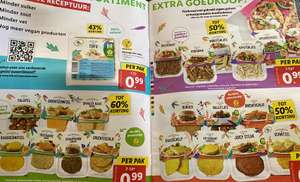 Alle vleesvervangers @ Lidl €0,99