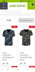 Cars jongens blouse