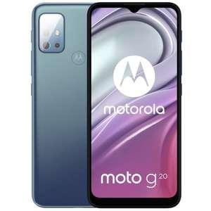 Motorola Moto G20 Smartphone Blauw @ Mobiel.nl