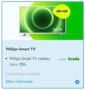 Philips Smart TV cadeau bij een nieuw 1-jarig internet (& TV) abonnement @ KPN