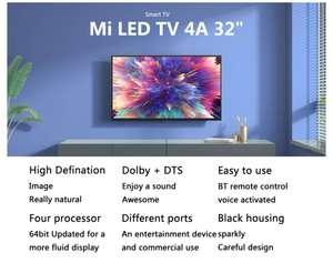 Xiaomi Mi Smart TV 4A 32 Inch Voice Control 5G WIFI bluetooth 4.2 HD