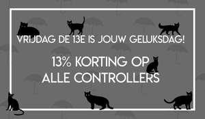 13% korting op alle controllers @ GooHoo
