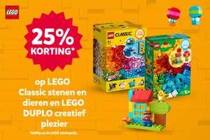 Intertoys - 25% korting LEGO Classic stenen en dieren 11011 + LEGO DUPLO creatief plezier 10887
