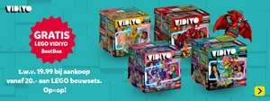 Intertoys - Bij €20 besteding aan Lego gratis Vidiyo Beatbox set (alleen in de winkel)