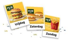 50 jaar McDonald's - Goedkope Big Mac, (Veggie) McKroket & Medium Friet