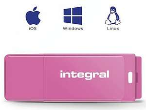 128GB USB 2.0 Stick bij Amazon NL voor 10,35 euro (Roze)