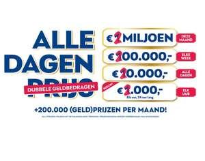 VriendenLoterij gegarandeerd geld (€20) + winkans