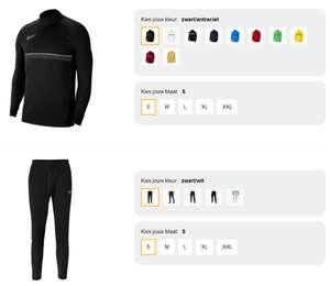 Nike trainingspak Academy 21 - verschillende kleuren voor €41,64