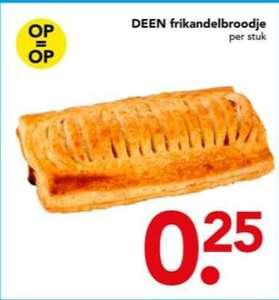 [Deensdag] Frikandelbroodjes bij deen voor 25 cent @Deen
