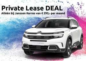 Citroën C5 Aircross SUV private lease (24mnd/11000km) voor €293 @ Janssen Kerres