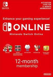 1 jaar Nintendo Switch Online individueel voor €14,99 met code @ Eneba